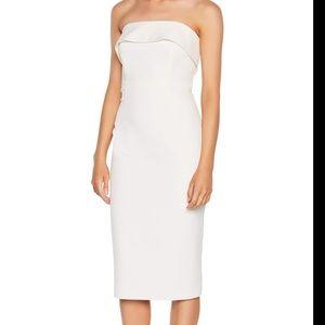 Bardot | Ivory Georgia Strapless Dress Large 10